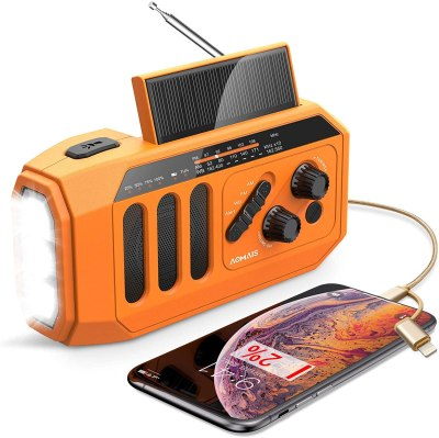 Amazon: 2020 Newest Emergency Radio for $23.99 (Reg.Price $39.99) after code and coupon!