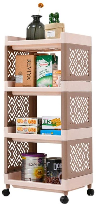 Amazon: 4-Tier Rolling Cart Bathroom Shelf with Wheels for $29.99 (Reg.Price $59.98) after code!