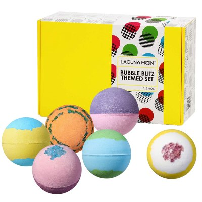 Amazon: 6 Pcs XXL Bath Bombs Gift Set for $4.99 (Reg.Price $9.99) after code!