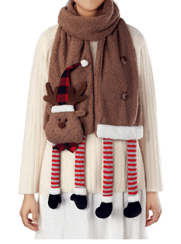 Amazon: APCHFIOG Winter Warm Long Christmas Scarf Only $10.49 (Reg. $20.99)