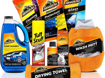 Amazon: Armor All Car Wash and Cleaner Kit (8 Items) for $22.69 (Reg. $34.97)