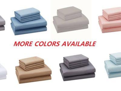 Walmart: Hotel Style 1200 Thread Count Cotton Rich 6-Piece Sheet Set $25.00