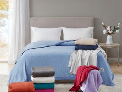 Macy's: Martha Stewart Fleece Blankets $15 Reg.$50