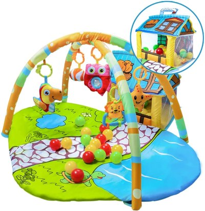 Amazon: Baby Gym Play Mat and Ball Pit Infant Tummy, Just $32.99 after coupon!