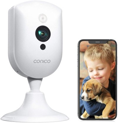 Amazon: Baby Monitor, Conico 1080P Wireless Security Home Camera, Just $11.99 (Reg $ 20.99) after coupon!