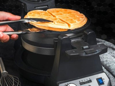 Best Buy: Bella Pro Series Belgian Flip Waffle Maker Only $37.99 (Reg. $70)