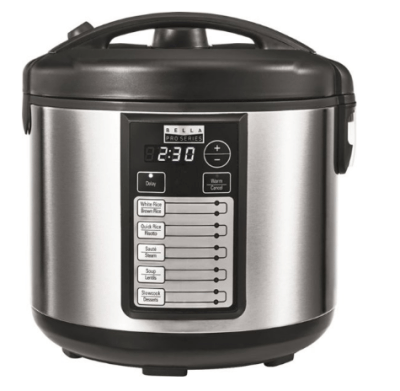 Best Buy: Bella Rice Cooker Only $29.99 (Reg. $50)