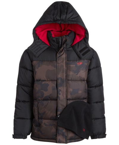 Macy's: CB Sports Big Boys Promo Quilted Jacket For $15.99 Reg.$85.00