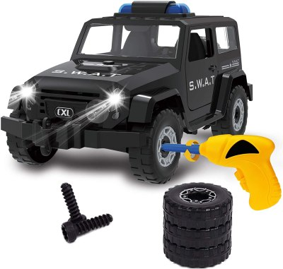 Amazon: Build Own STEM Toy Car with Drill for $12.99 (Reg.Price $25.99) after code!