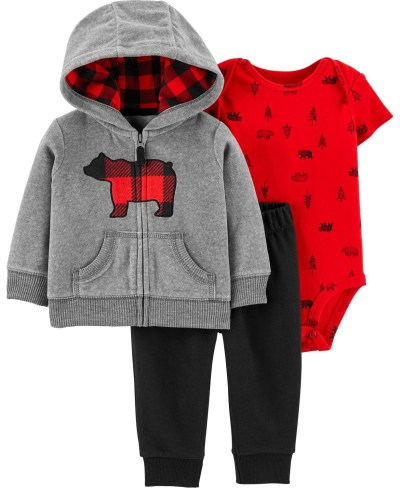 Macy's: Carter's Baby Boy 3-Piece Bear Little Jacket Set for $13.60 Free Store Pickup! (Reg. $34.00)