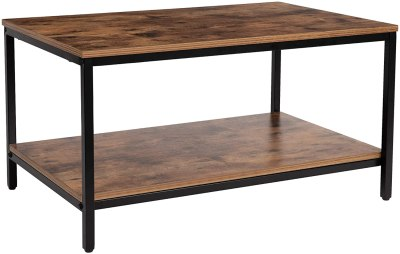 Amazon: 30% Off Coffee Table with Metal Frame for $32.00 (Reg. $79.99)