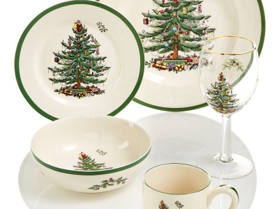 Macy's: Christmas Tree Dinnerware Collection for $11.99 - 95.99