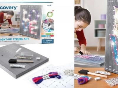 Kohl's: Discovery DIY Light-Up String Art Kit ONLY $12.59 (Reg $18)