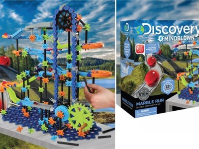 Kohl's: Discovery Marble Run 321-piece Set ONLY $20.99 (Reg $30)