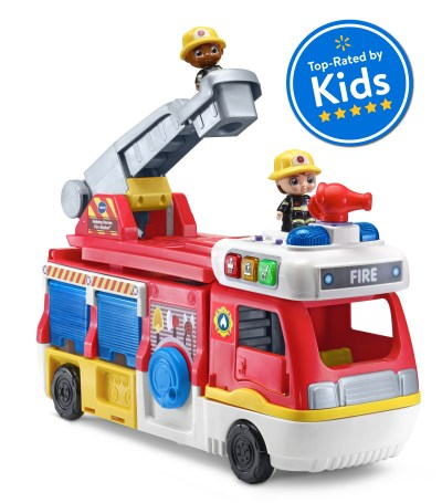 Walmart: VTech Helping Heroes Fire Station Playset With Two Firefighters For $29.82 Reg.$39.82
