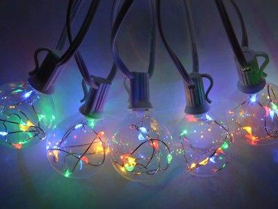 Amazon: Globe String Lights for $10.99 - $11.99