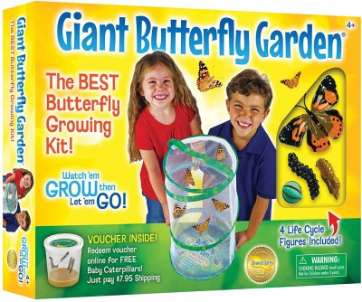 Amazon: Insect Lore Giant Butterfly Garden with Voucher Only $20.99 (Reg. $29.99)