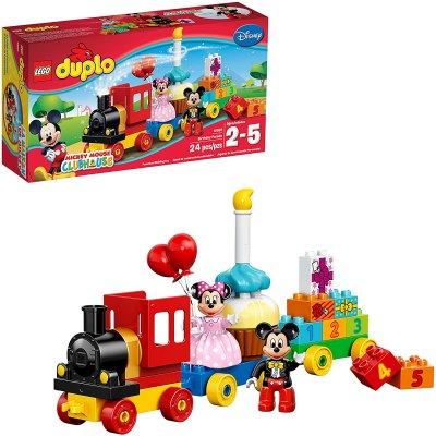 Amazon: LEGO DUPLO Disney Mickey Mouse Clubhouse Mickey & Minnie Birthday Parade Disney Toy for $14.99 (Reg.Price $24.99)