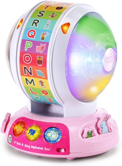 Amazon: LeapFrog Spin and Sing Alphabet Zoo Amazon Exclusive, Pink Only $19.99