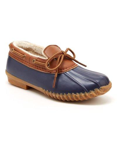 Zulily: Navy Gwen Duck Shoe - Women For $19.99 At Reg.$45.00