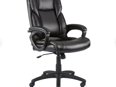 Staples: Kelburne Luxura Faux Leather Desk Chair $89.99 ($130)