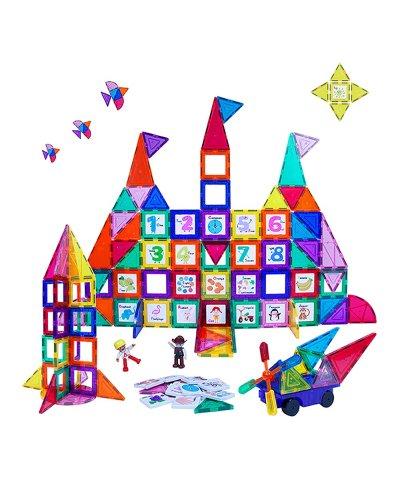 Zulily: PicassoTiles 121-Piece Magnetic Building Block Set For $49.79 Reg.$149.99