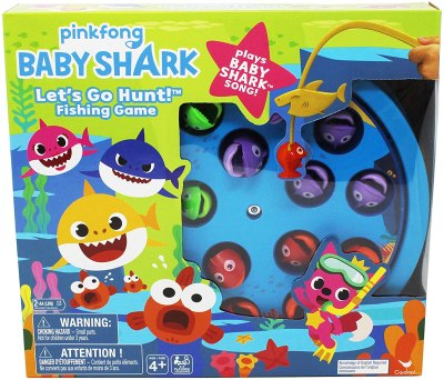 Amazon: Pinkfong Baby Shark Let's Go Hunt Musical Fishing Game for $7.49 (Reg.Price $15.00)