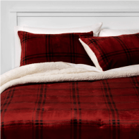Target: Plush Plaid Comforter & Sham Set Only $25 (Reg. $49)
