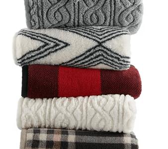 Kohl's: Plush Throw Blankets Only $16.99 (Reg $50)