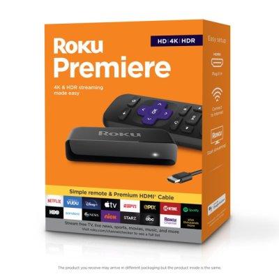 Walmart: Roku Premiere | HD/4K/HDR Streaming Media Player For $24.00 Reg.$39.99
