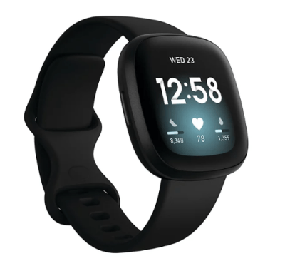 KOHL'S: Fitbit Versa 3 Health and Fitness Smartwatch For $199.99 Reg.$229.99