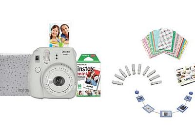 HSN: Fujifilm Instax Mini 9 Instant Camera Bundle for $44.99!!(Reg. $79.99)