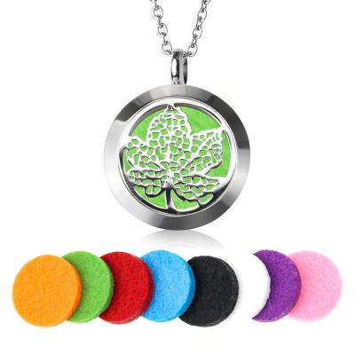Amazon: Women's Aromatherapy Essential Oil Diffuser Necklace Locket Pendant for $5.74 (Reg.Price $11.49)