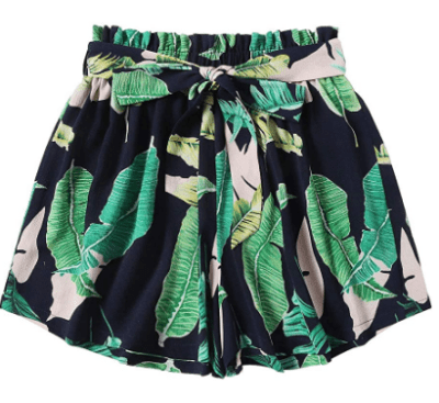 Amazon: Women's Casual Floral Print Self Tie Belted Chiffon Shorts Only $5.99 after code (Reg. $19.98)