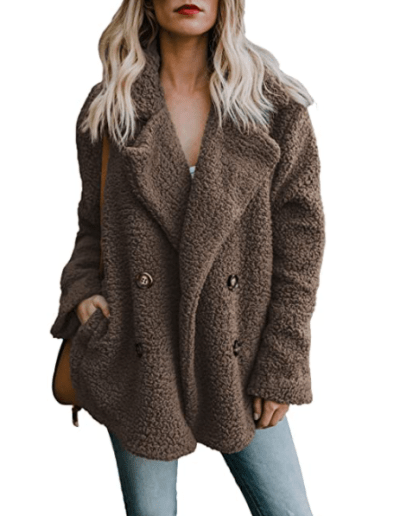 Amazon: Cardigan Casual Coat with Pockets for $7.65