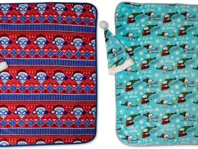 Macy's: Disney Blanket & Santa Hat Set $14.99 (Regularly $50)