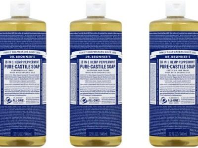 Walgreens: Dr. Bronner's Pure Castile Soap $9.39 Each (Reg $14)