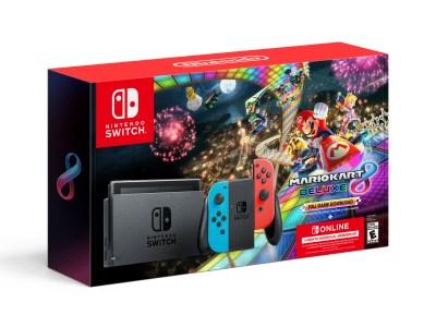Walmart: Nintendo Switch™ w/ Neon Blue & Neon Red Joy-Con For $299.00