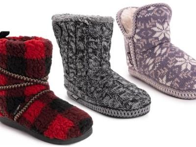 Kohl's: Muk Luks Women's Slippers $8 (Reg $40)