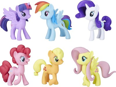 Amazon: My Little Pony Toys Meet the Mane 6 Ponies Collection Now $14.99