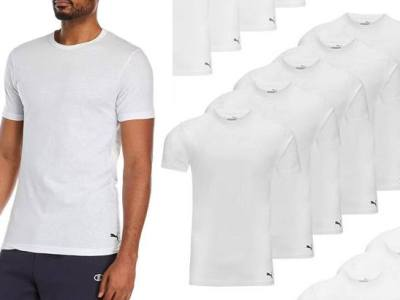 Woot: Puma Men's Tees 6-Pack for $19 (Reg $56) – Just $3.17 per Shirt!