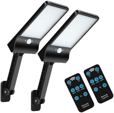 Amazon: JMOSTRG 2 Pack 56 Led Remote Solar Lights for $10.39
