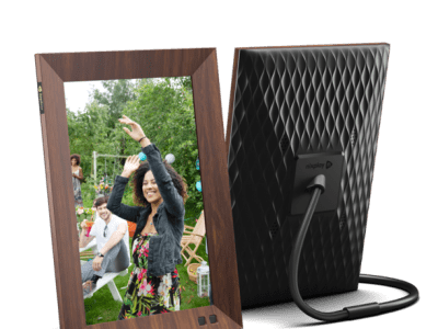 Walmart: Nixplay 10 Inch Smart Digital Photo Frame W10F Wood For $134.99 Reg.$199.99