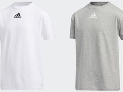 eBay: Adidas Kids Badge of Sport Tee ONLY $4.90 (Reg $10) + FREE Shipping