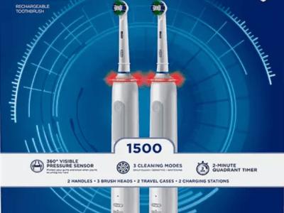 Sam's Club: 2pk- Oral-B ProAdvantage 1500 Electric Toothbrush $74.98 ($99.98)