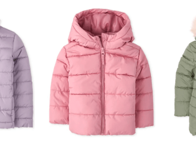60% Off The Children's Place Puffer Jackets!