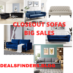 Wayfair: CLOSEOUT Deals on Sofas