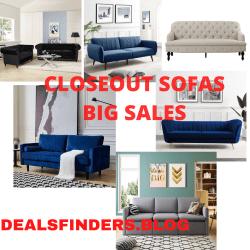 Wayfair: CLOSEOUT Deals on Sofas