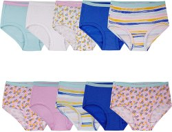 Amazon: Fruit of the Loom Girls' Cotton Brief Underwear for Only $2.00 (Reg. $12.00)