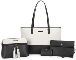 Amazon: Set of 4 Women's Fashion Tote Purse for $21.59 (Reg.Price $32.99)